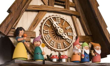 Romantic Fairy Tale Clocks