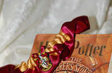Wizard Wedding Accessories - These Custom Wedding Garters are Harry Potter-Themed