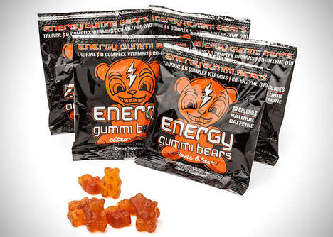 Caffeinated Gummy Bears - The Energy Gummi Bears Offer an Energy-Boosting Dose of Sweetness