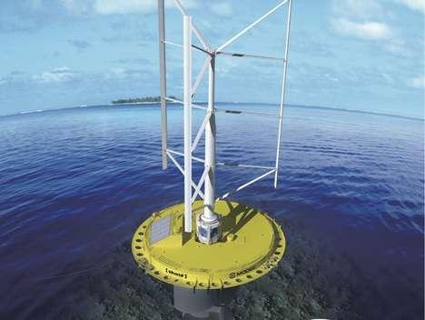 Hybrid Oceanic Energy Collectors