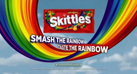 Interactive Candy-Crashing Ads