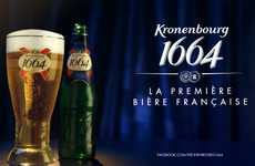 Senselessly Subtitled Ale Ads - Kronenbourg 1664 Proves You Don't Need French to Enjoy this Beer