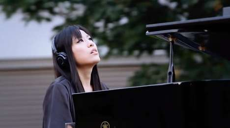Silent Piano Concerts - Classical Pianist HJ Lim Plays Silent Session