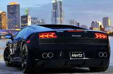 Mainstream Supercar Rentals - The Hertz Dream Car Program Lets Average Joes Drive Supercharged Rides