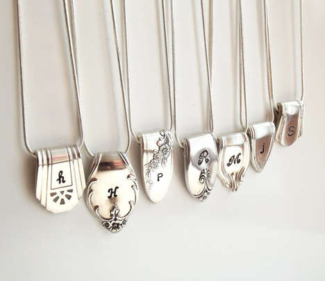 Upcycled Silver Spoon Necklaces