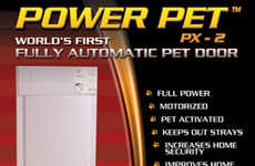 Guilt-Reducing Pet Accessories - These Electronic Pet Doors Give Your Pet Convenience and Freedom
