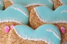 Beach-Themed Biscuits