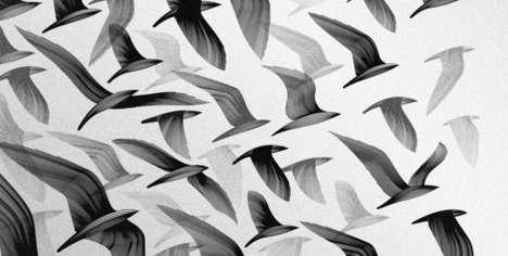 Minimalist Avian Artwork