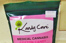 Cannabis-Infused Cotton Candy - This Weed Cotton Candy Provides Edible Cannabis for Medical Reasons
