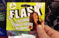 Fake Feminine Hygiene Flasks - These Flask Tampons Provide a Sneaky Way to Transport Alcohol