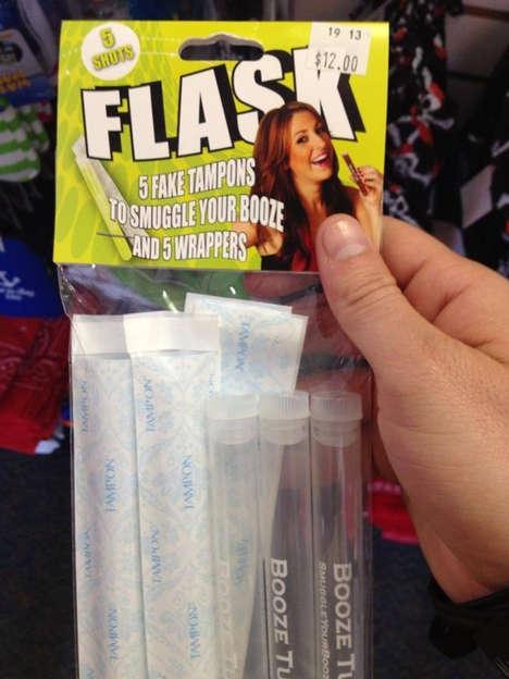 Fake Feminine Hygiene Flasks