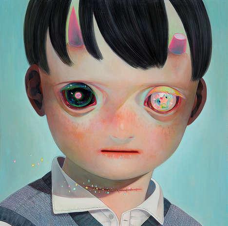 Starry-Eyed Kid Illustrations