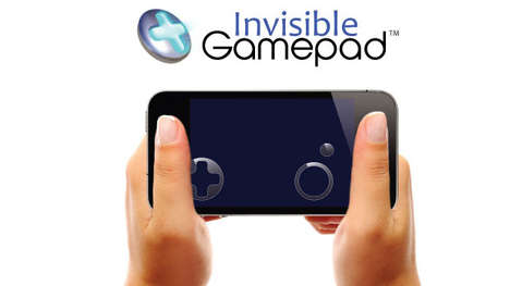 Touchscreen Gaming Stickers - The 'Invisible Gamepad' Gaming Stickers Makes Playing Apps Easier