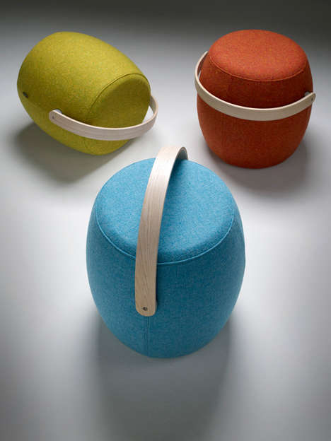 Portable Handle Seating - The Carry On Stool Lets You Take Comfort Everywhere You Go