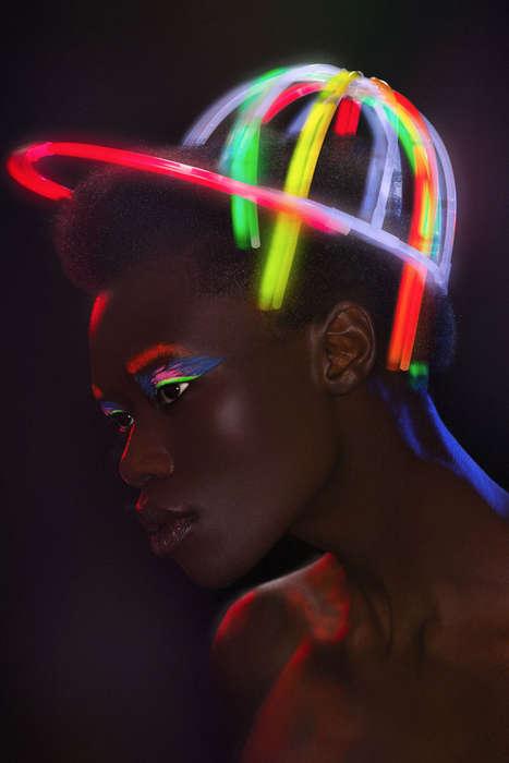 Illuminated Headpiece Editorials