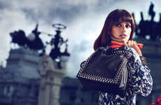 Moodily Elegant Handbag Ads