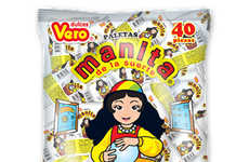 Fortune Teller-Inspired Treats - Manita Hand-Shaped Candy is Playful