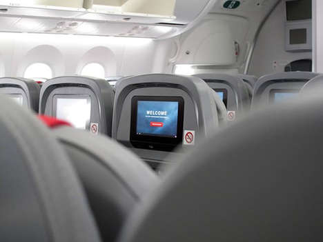 Android-Powered Airlines - Norwegian Launches an Android-Powered in-Flight Entertainment System