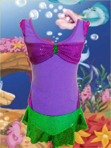 Disney Princess Running Outfits - These iGlow Running Ensembles Channel Fairytale Princess Charm