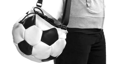 Strapped Sports Ball Bags