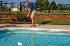 Floating Mini Putt Mats - The 'Swim Time Aqua Golf Backyard Game' Can be Placed in Any Pool