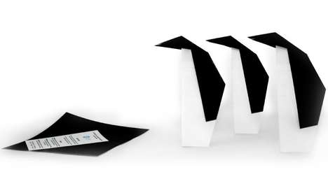 Origami Penguin Flyers