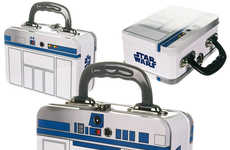 Sci-Fi Meal Carriers - The Star Wars R2-D2 Tin Tote is Perfect for Diehard Fans of the Saga