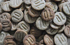 Cricket Flour Cookies - These Cookies Vary the Percentage of Ingredients Made with Insects