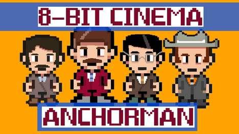 8-Bit Comedy Remakes