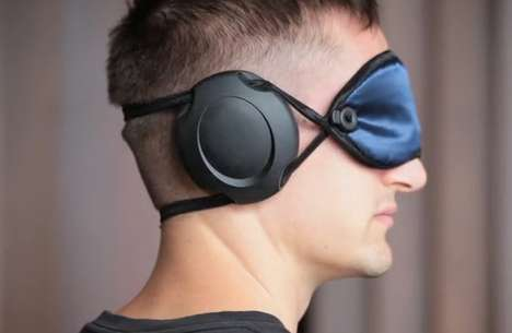 Sound-Stopping Sleeping Masks