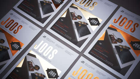 Premium Foiled Tabloids - The Joos Tabloid by Pure Publishing is a Luxurious Design