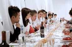 Foodie-Centric Social Networks - The TableCrowd Platform Lets You Network While Dining