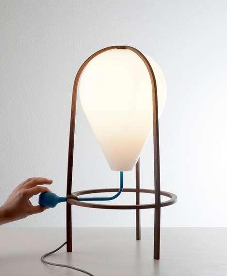 Squeeze Pump Lamps