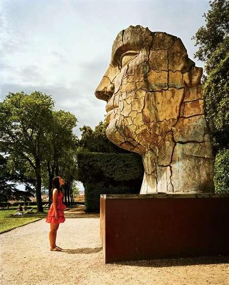 Stunning Crumbling Statues
