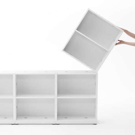 Modular Japanese Office Furniture