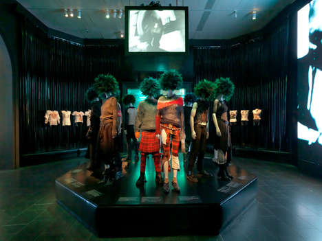 Punk-Fashion Evolution Exhibits - The PUNK: Chaos to Couture Exhibit is Making Serious Waves