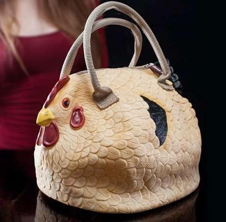 Clucking Clutch Bags