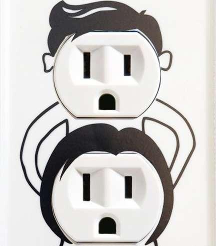Playfully Perverse Plug Stickers
