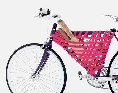 Stylish Pink Bicycle Storage