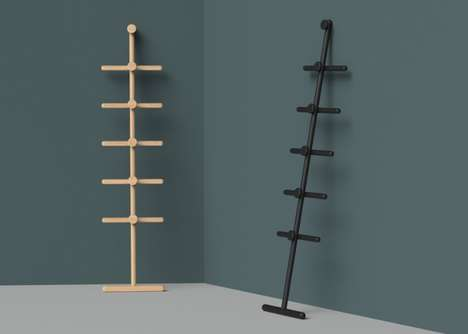 Flat-Pack Minimalist Coat Racks