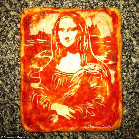 Pop-Art Pizza Portraits