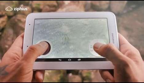 Underwater Drone Cameras