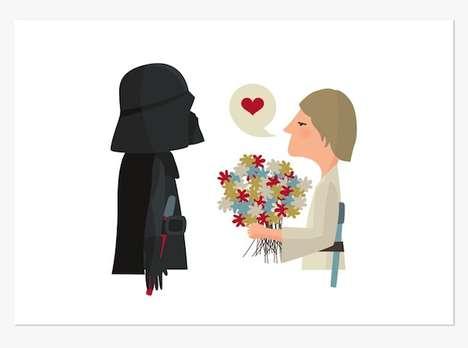 Minimalist Love Illustrations