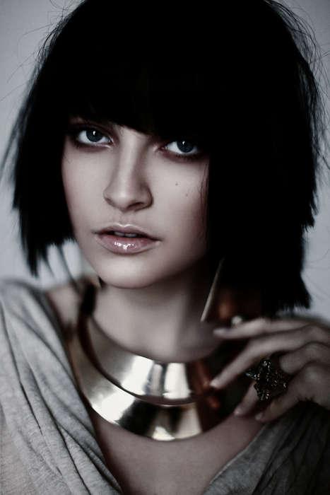 Elegant Cleopatra Beauty Captures