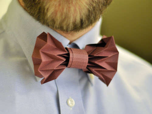 DIY Origami Bow Ties