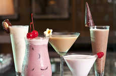 Creamy Camel Milk Cocktails - The Abu-Dhabi Ritz-Carlton Created Some Nutritiously Delicious Drinks