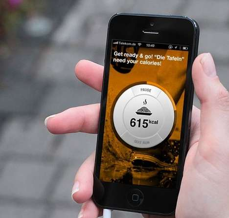 Calorie-Transferring Apps - The Miles for Meals App Lets You Donate Your Burned Calories