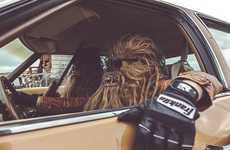Wookiee-Inspired Captures - Mako Miyamoto Photographs Wookiees Living It Up