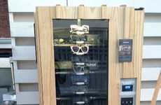 Emergency Eyewear Dispensers - 'Monocle Order' Unveils Its First Vending Machine for Sunglasses