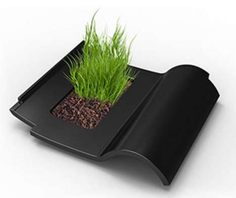 Field-Infused Roof Tiles